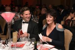 Jacquie Douglas. Gloucestershire Sports Awards 2018 Cheltenham Racecourse, Evesham Rd, Cheltenham.