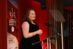 Senior Editor for Gloucestershire - The Echo, The Citizen and GloucestershireLive Rachael Sugden.  Gloucestershire Sports Awards 2018 Cheltenham Racecourse, Evesham Rd, Cheltenham.