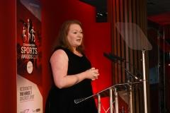 Senior Editor for Gloucestershire - The Echo, The Citizen and GloucestershireLive Rachael Sugden.  Gloucestershire Sports Awards 2018 Cheltenham Racecourse, Evesham Rd, Cheltenham.