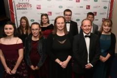 Deer Park Archers. Gloucestershire Sports Awards 2018 Cheltenham Racecourse, Evesham Rd, Cheltenham.