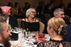 Suzanne Booker from Lilian Faithfull Care. Gloucestershire Sports Awards 2018 Cheltenham Racecourse, Evesham Rd, Cheltenham.