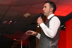 Andy Lewis MBE. Gloucestershire Sports Awards 2018 Cheltenham Racecourse, Evesham Rd, Cheltenham.