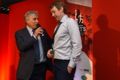John Inverdale chats to Professional Sports Personality of the Year award winner Vicky Holland's brother James Holland.Gloucestershire Sports Awards 2018Cheltenham Racecourse, Evesham Rd, Cheltenham.